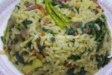 Keerai Rice