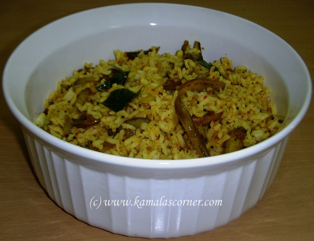 Vaangi Bath (Brinjal Rice)