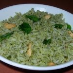Curry leaves Rice – Method 1