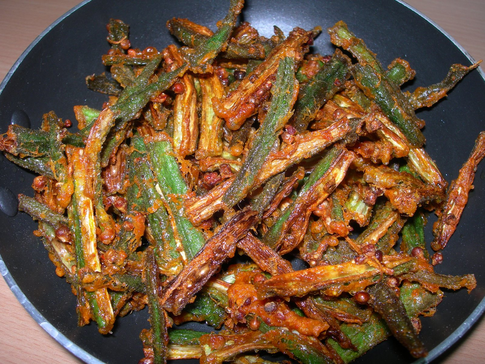 Ladies Finger (Vendaikai) Fry