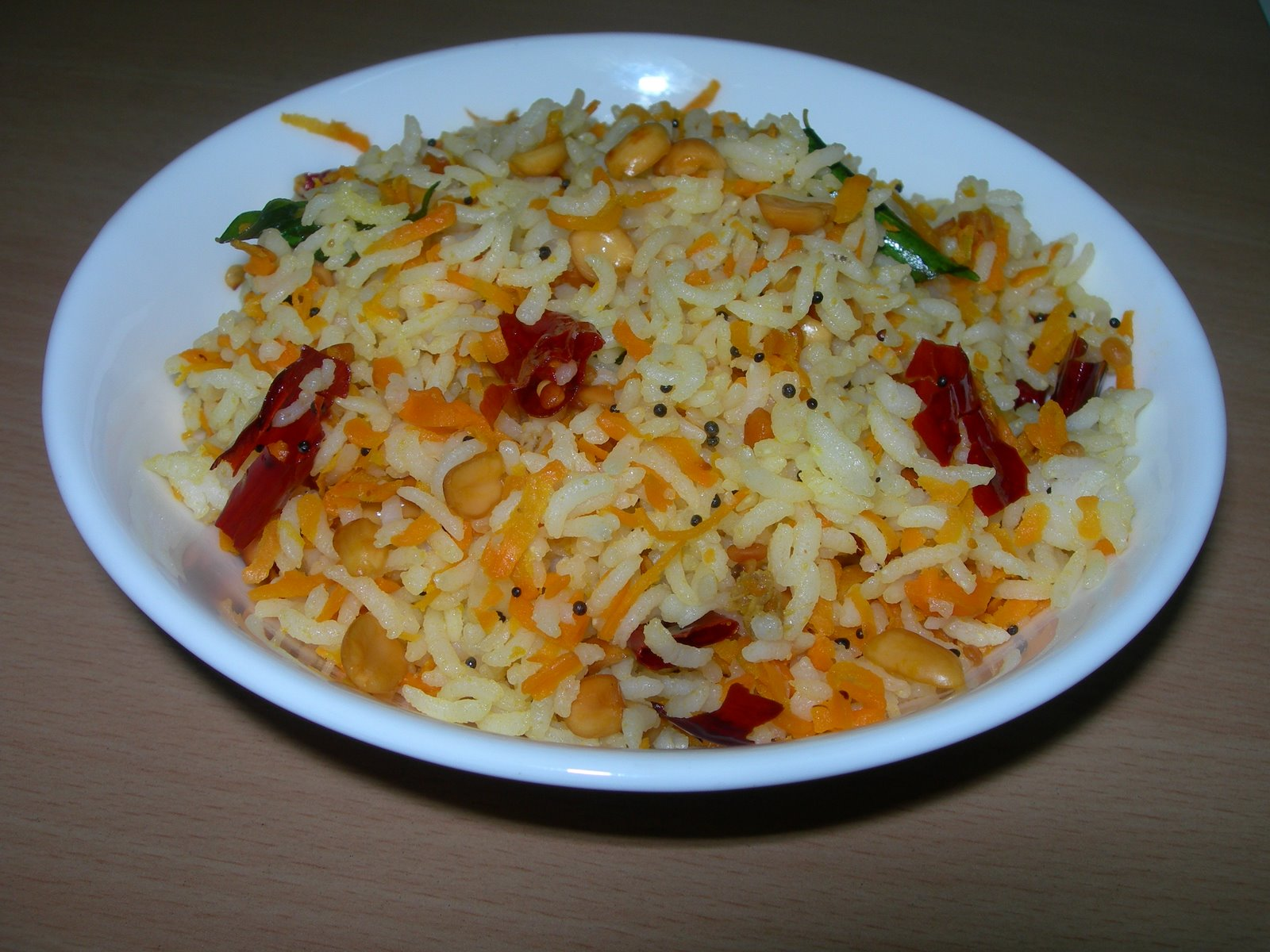 Carrot Rice - Kamala's Corner