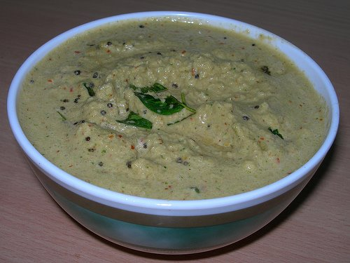 Coconut Curry Leaves Chutney