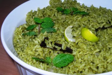 pudina-mint-rice
