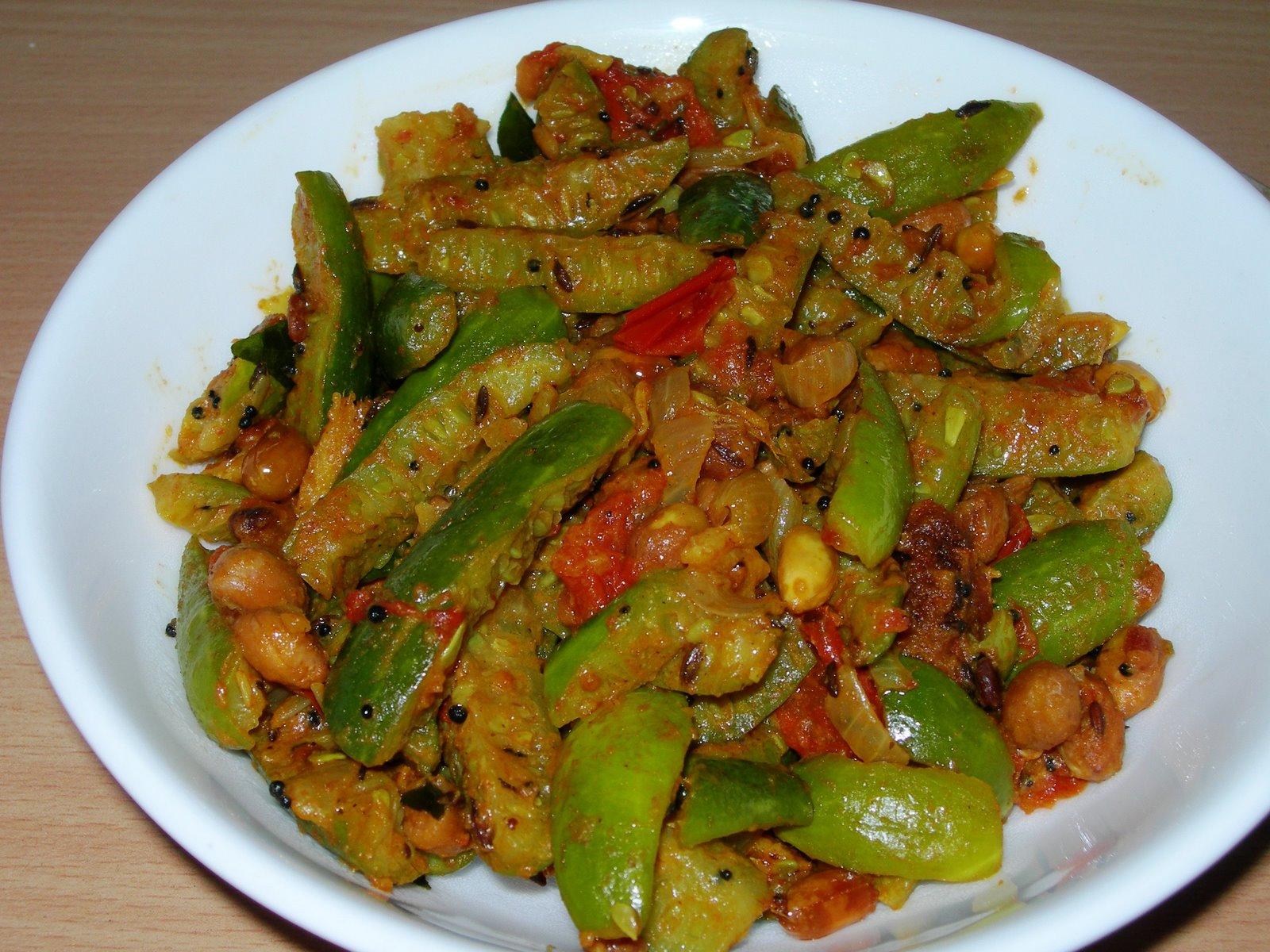 Kovakkai Kadalai Curry