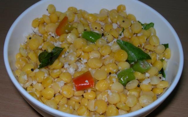 Kadalai Paruppu (Bengal Gram) Sundal