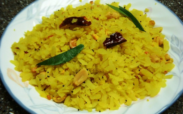 Lemon Aval (Poha)