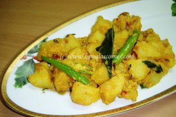 Potato Curd Fry