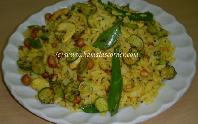 Kovakkai (Tindora) Rice