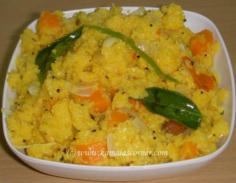 Corn Meal Kichadi