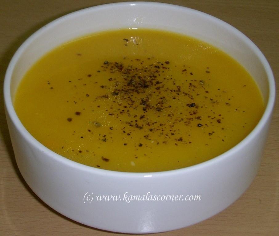 Potato and Carrot Soup