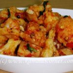 Cauliflower Chilli Fry