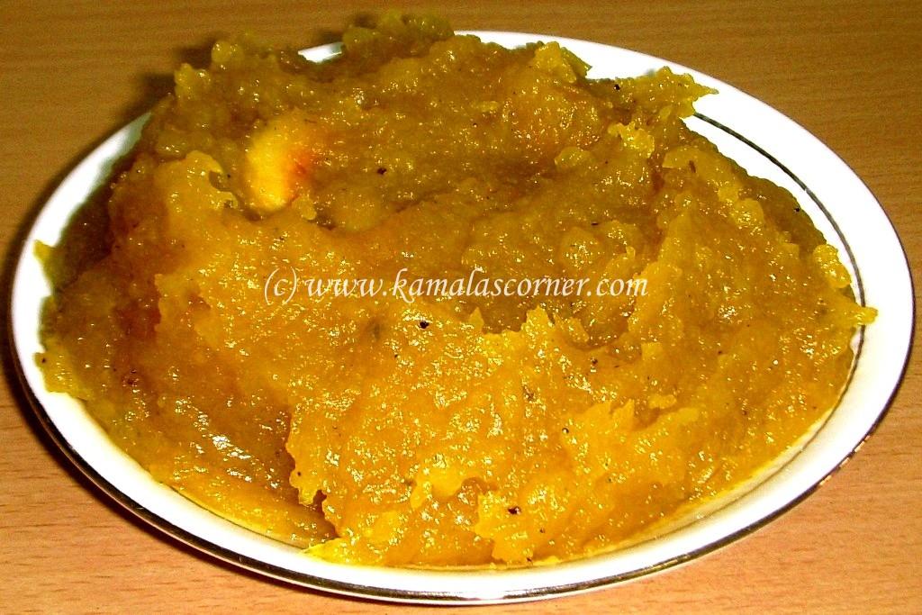 Pumpkin Moong Halwa