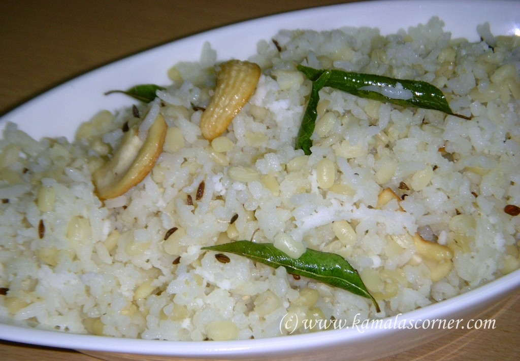 Ulundu (Black Gram) Rice