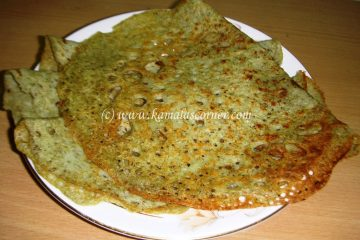 Moong Sprout Dosa