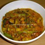 Pavakaai Ellu (Bitter gourd – Sesame)  Pachadi