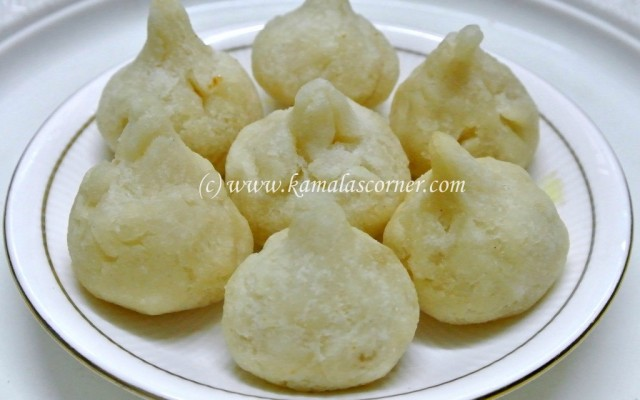 Fried Modak – Version 2