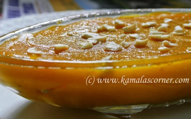Wheat Carrot Halwa