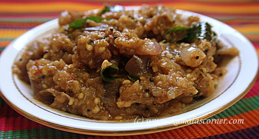 Chidambaram Kathirikai (Brinjal) Gosthu