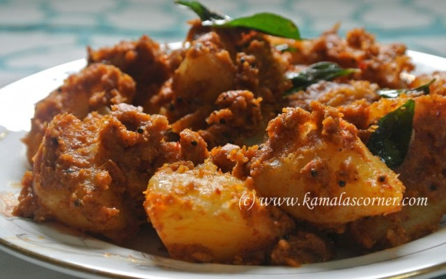 Potato Masala Fry