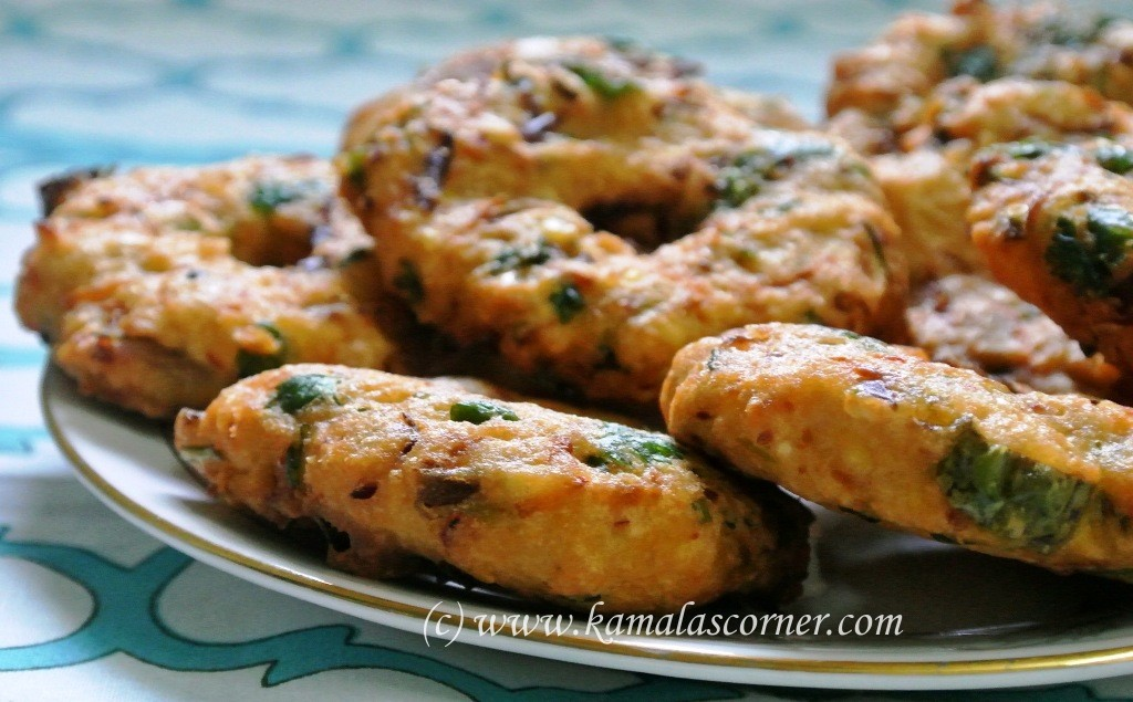 Vegetable Vadai