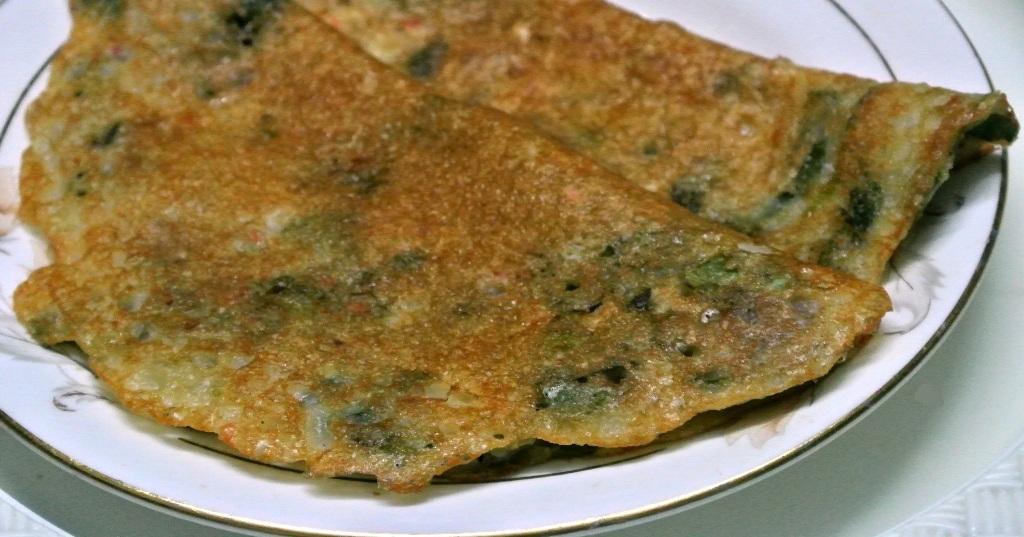 Murungai Keerai (Drumstick Leaves) Adai