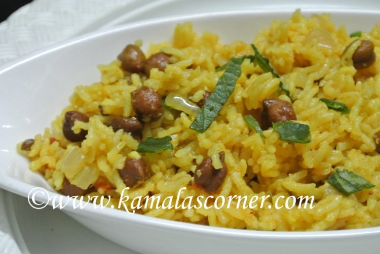 Channa (Kondai Kadalai) Rice