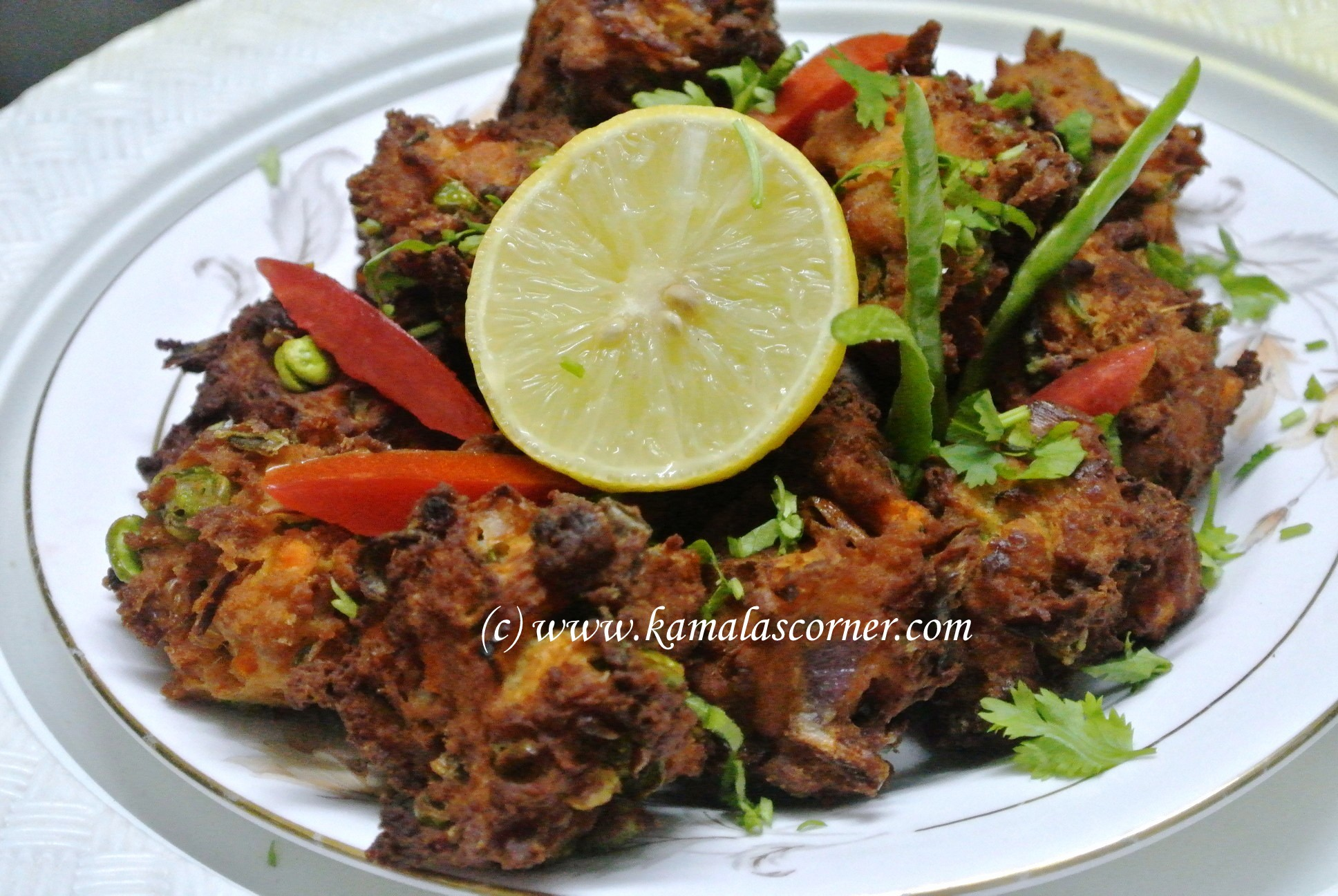 Vegetable Pakoda with Jamun Mix