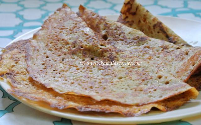 Thinai (Foxtail Millet) Dosai