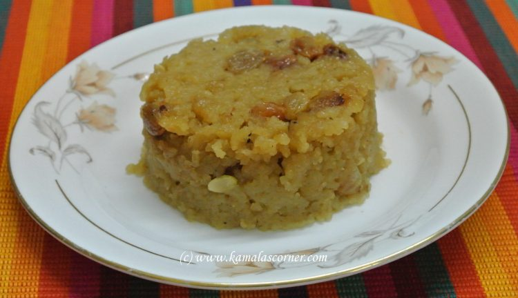 Healthy Sarkarai Pongal