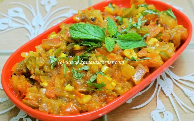 Tomato Onion Curry