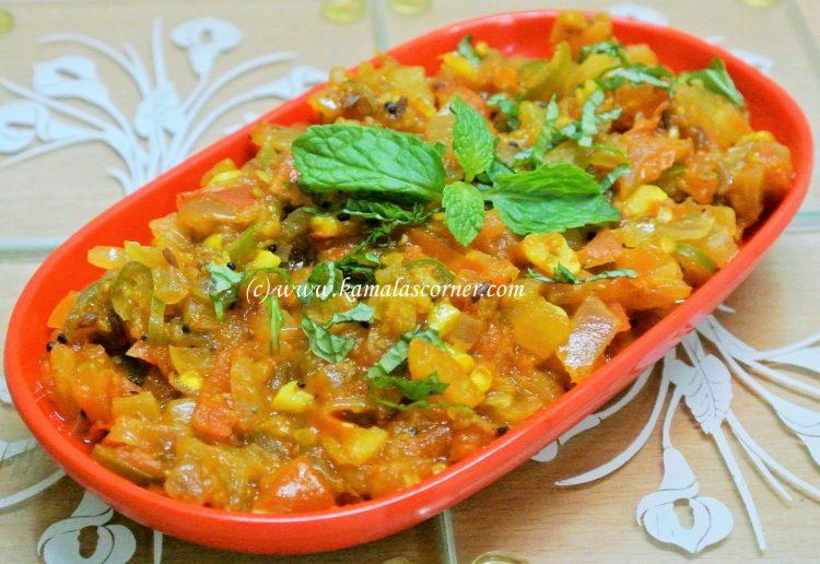 Tomato Onion Curry