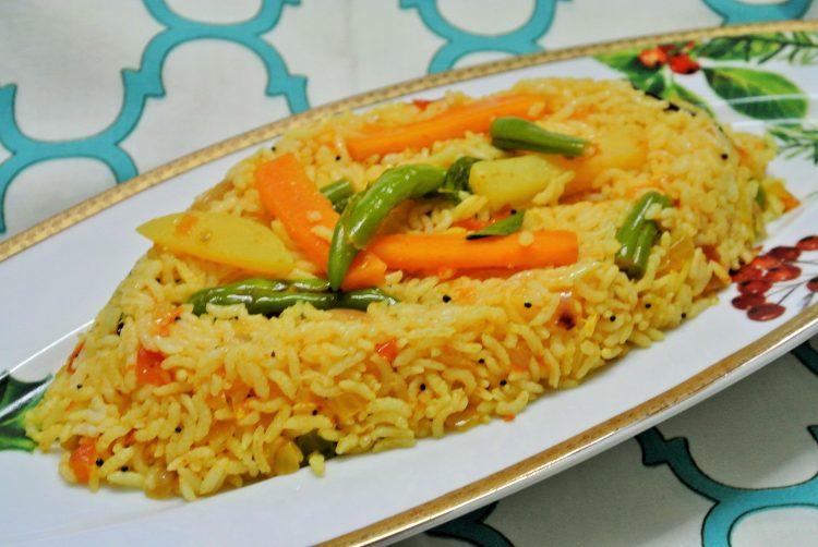 Vegetable Tomato Rice