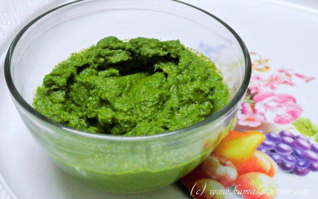 Inji Malli (Ginger Coriander Leaves) Chutney